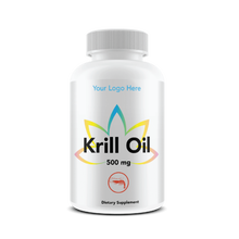 USA GMP Certified Private Label Krill Oil 500mg BOTTLED Wholesale