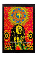 Poster Indian Wall hanging Bob Marley in Africa Design Ethnic Home Decor Bohemian Boho 30