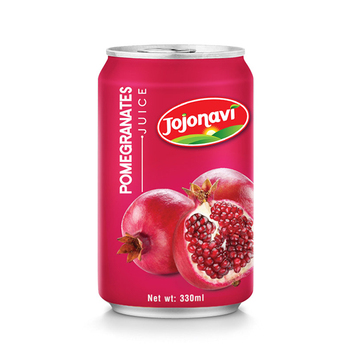 Natural Fruit Juice Pomegranates juice aluminium can