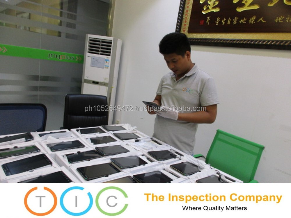 Pre Shipment Inspection service Thailand Tablet