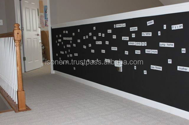 Isonem Magnetic Plaster, Magnets can be sticked on walls