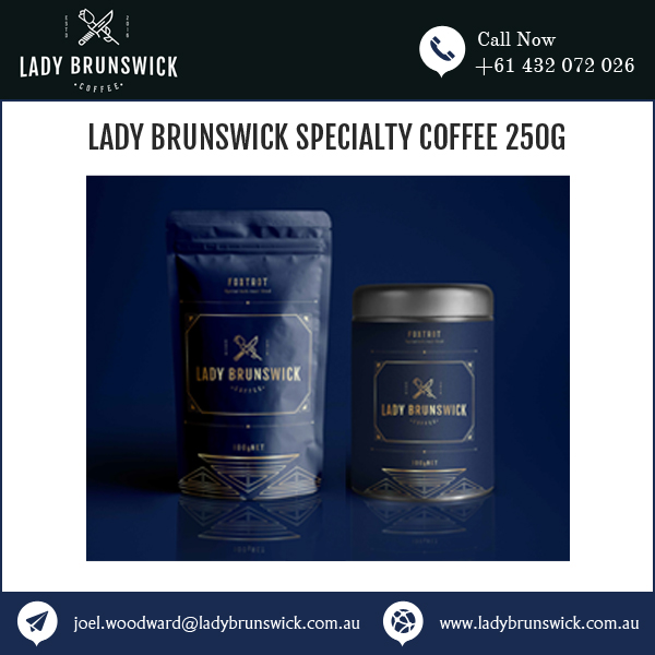 Delectable Taste Lady Brunswick Coffee in 250g Packing