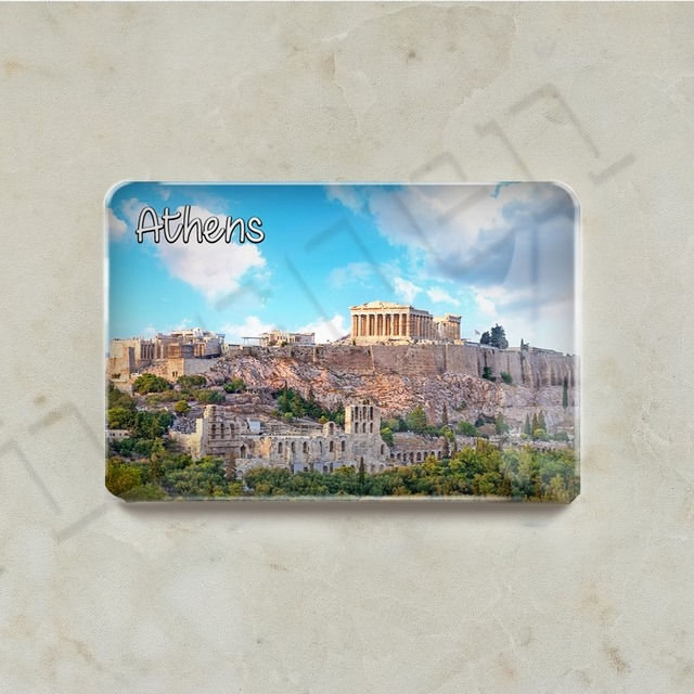 Fridge Magnet - Greece Athens Series - M01GREATH-01