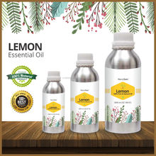 Cold Pressed Extracted Essential Pure Natural Lemon Oil