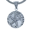 Starfish Bali Sterling Silver Pendant with Mother of Pearl