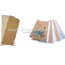 3 layers pp laminated kraft paper chicken feed bag