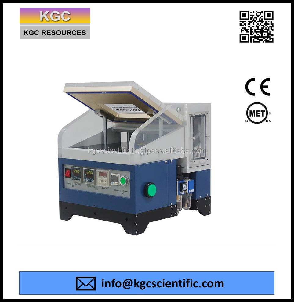 Compact Vacuum Sealer with Integrated Temperature and Pressure Control in One Unit for Preparing Pouch Battery