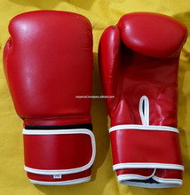 Wholesale Boxing Training Gloves Custom Design PU Boxing Gloves Cheap Leather Boxing Gloves