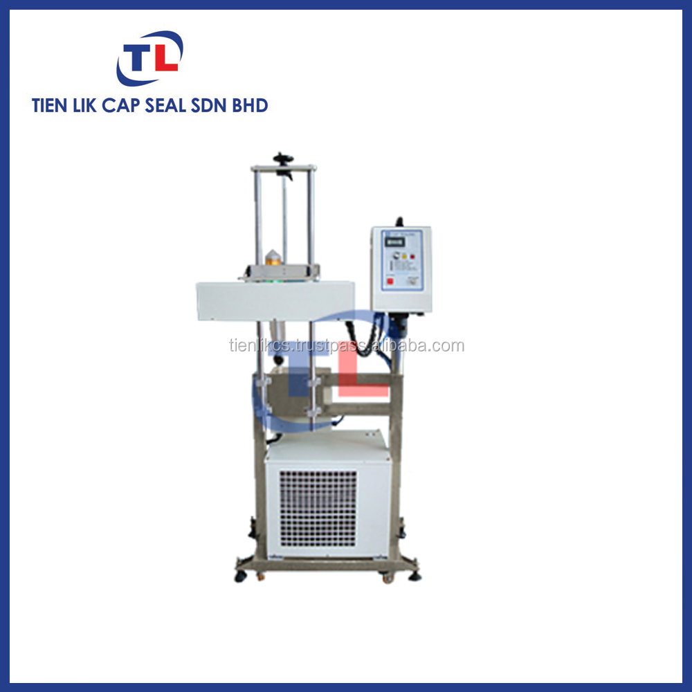 Auto induction cap sealer sealing machine with stand (without conveyor) for bottle