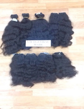 cambodian human hair wet and wavy weave expression hair extensions thick ends