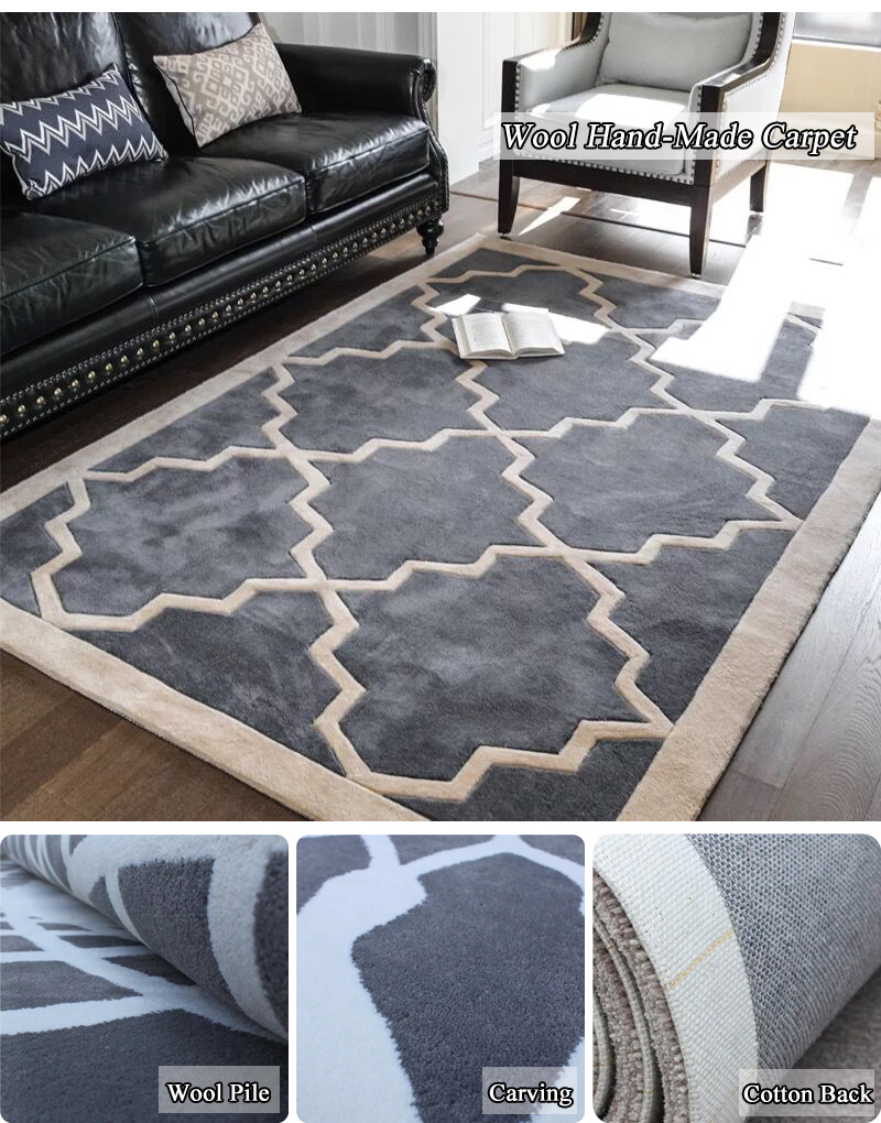 Hand Made Woven Tufted Rug