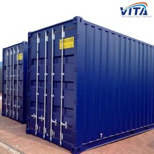 Chongqing 20ft Used ISO Dry Cargo Steel Shipping Container