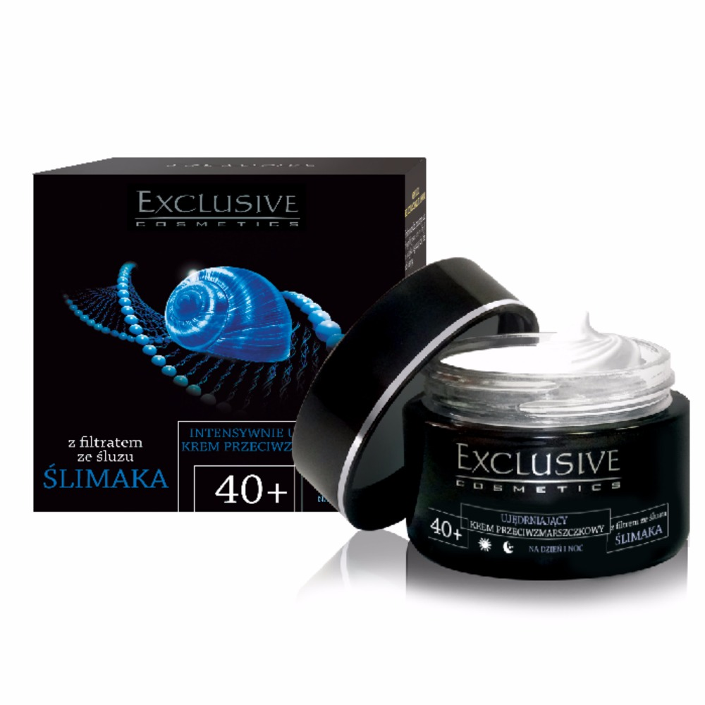 Exclusive Cosmetics Intensively Firming Anti-Wrinkle Cream with Snail Mucus Extract | 40+