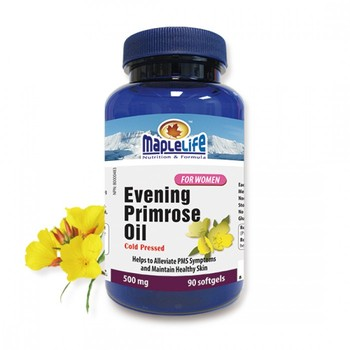 CANADA GMP MANUFATURER OEM SERVICE 90 SOFTGELS 500 MG EVENING PRIMROSE OIL SOFTGEL