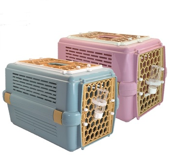 843 Taiwan design Pet product,Dog Cat Transport Cages, With Sunroof