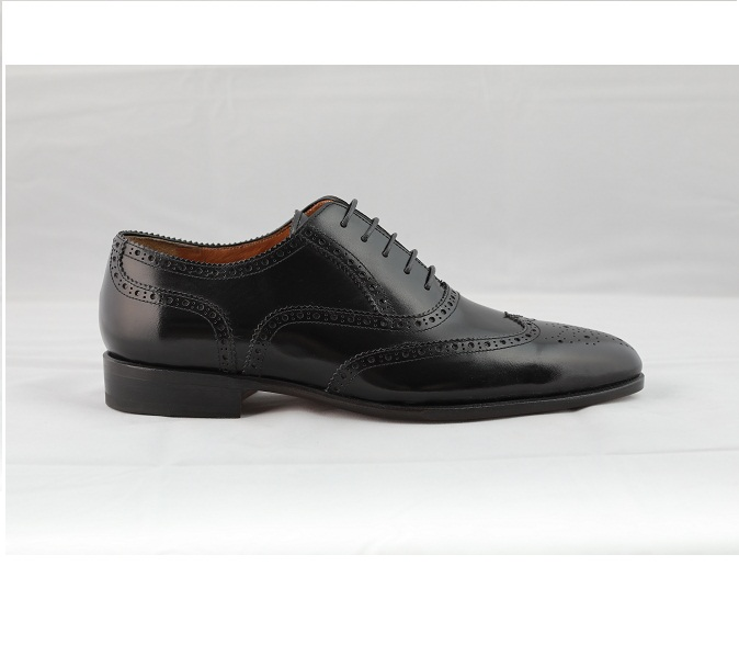 leather shoes men, Vietnam leather shoes cowhide genuine shoes for men Wingtip Oxford