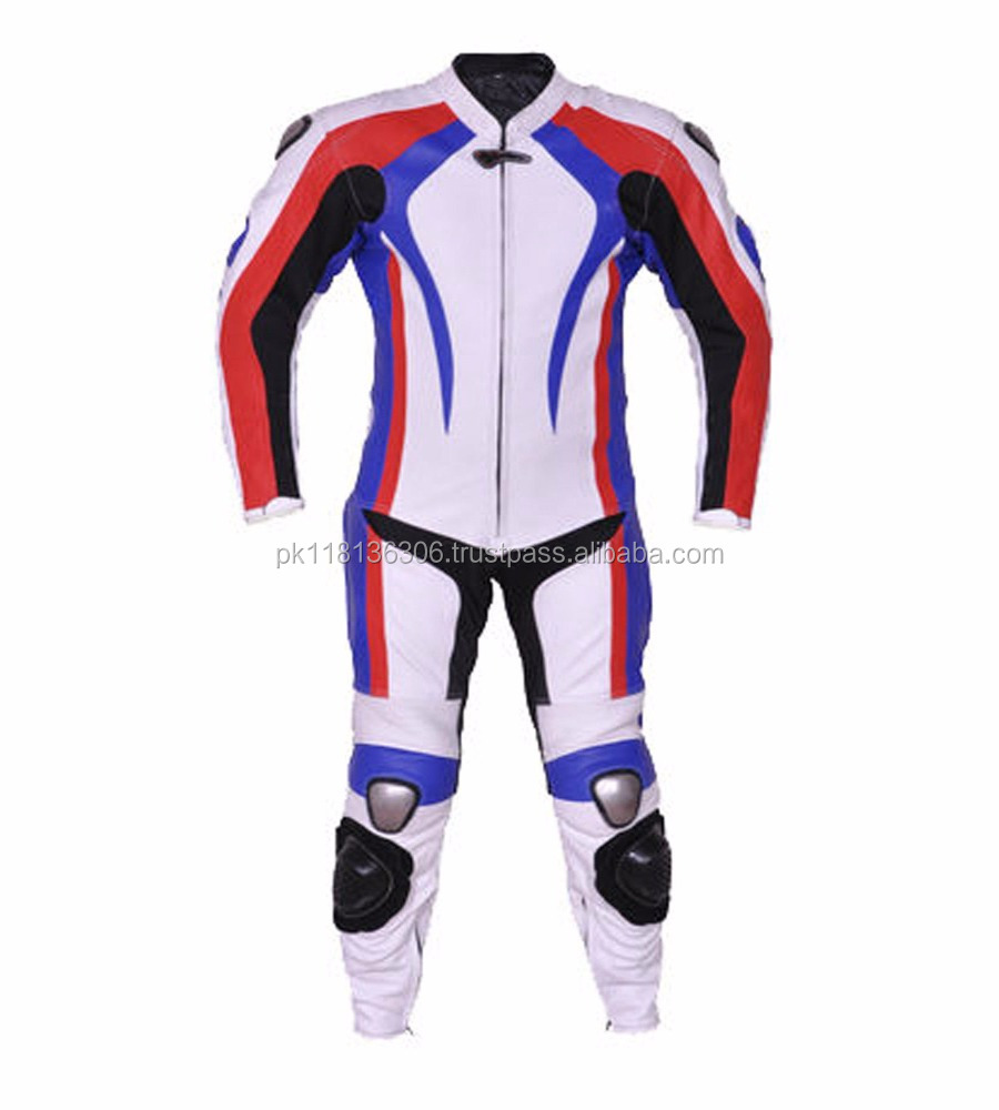 China Wholesale Motorcross Leather Suit/Leather Motorbike Suit/Motorcycle