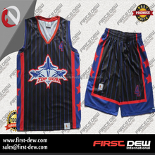 Wholesale custom latest basketball jersey and short design