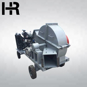 High efficiency portable wood chip crusher with different output made in china