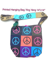 100% cotton bags eco friendly Peace Design