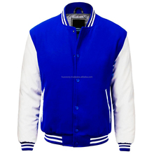 Modern Long Sleeve Slim Fit Zip Up Club Official Boys & Girls Varsity Baseball Jackets