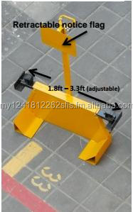 Wheel Clamp for Vehicle