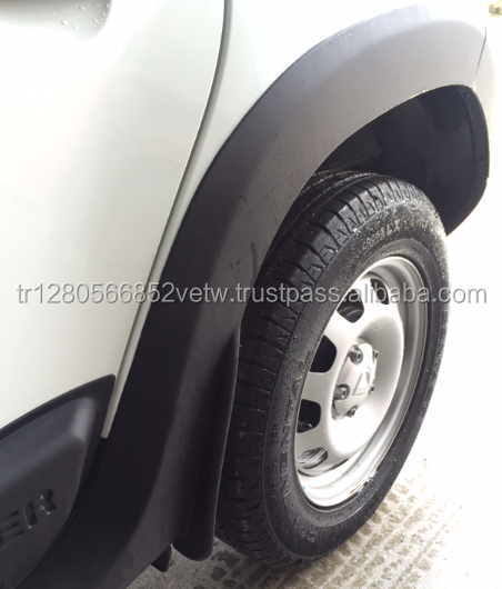 Duster Dacia Fender Flares ABS Plactic Arch 2012 - 2017