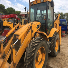 Japan used construction machinery JCB 4CX used backhoe loader