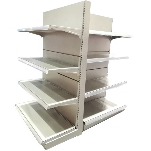 top! steel board supermarket display shelf store stand rack