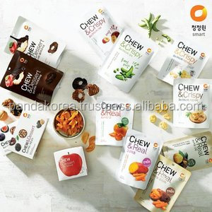 korea food Beverage brands Chuan real sweet potato chew snack Cranberry,Pineapple,Citrus,pes,Cheese Mild,Cheese rich