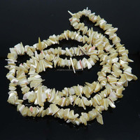 Mother of pearl 9-11mm approx 36 inch length chips gemstone strand beads for jewelry