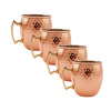100 Pure Solid Copper Mugs With