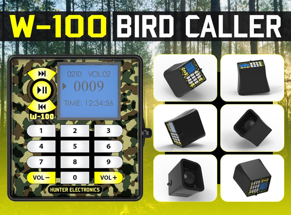 MP3 Bird Sound Caller with quail sound