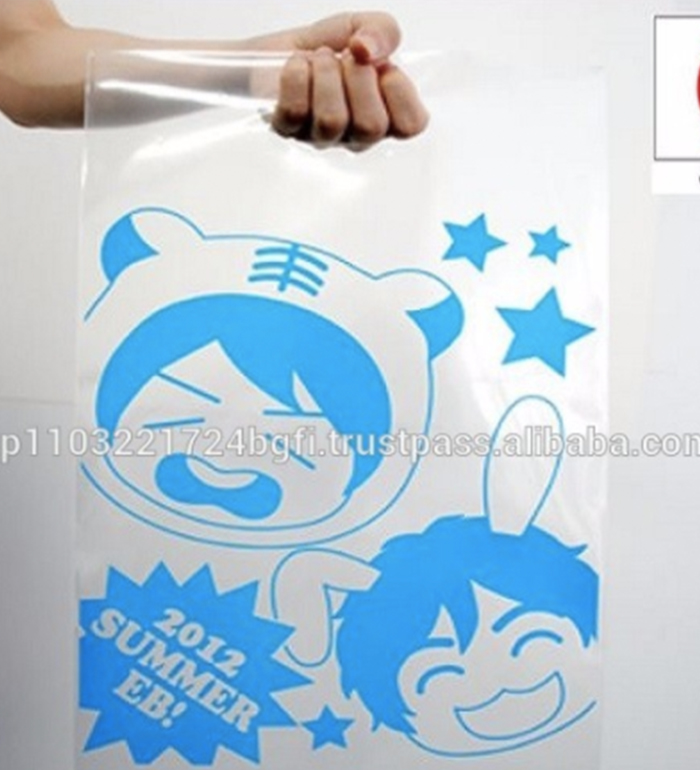 Custom Made Cotton Foldable Plastic Shopping Bag