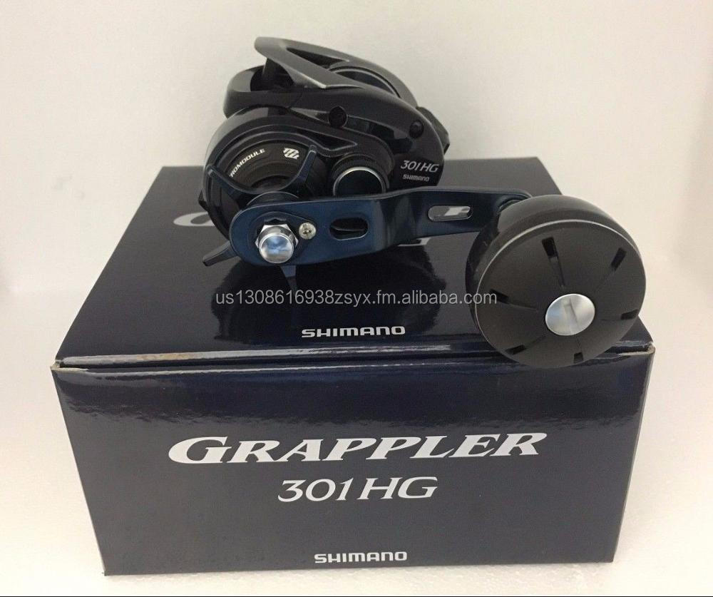 BUY AUTHENTIC 100% 2017 Shimano GRAPPLER 301HG (LEFT HANDLE) Bait Casting Reel
