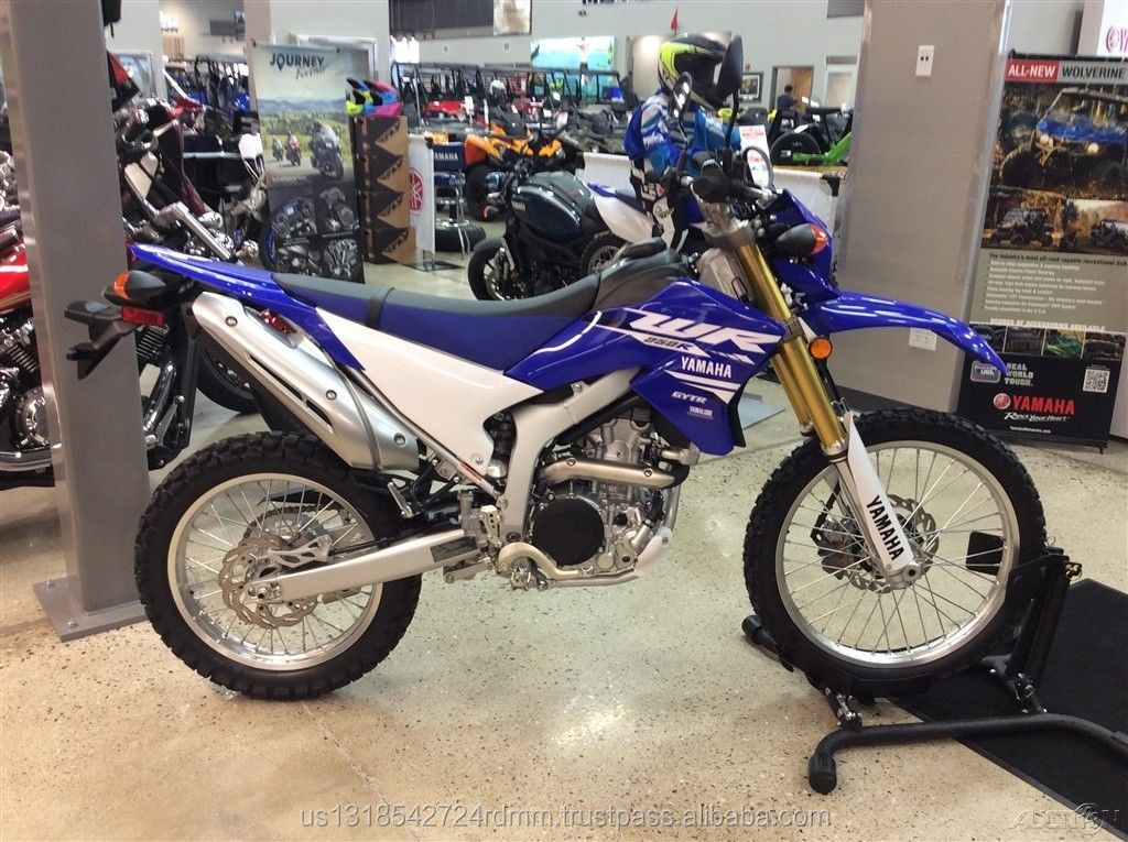 Factory Sealed 100% Authentic WR250R 250R Off-Road Blue