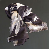 Latest Best Custom Voile Fabric Scarf