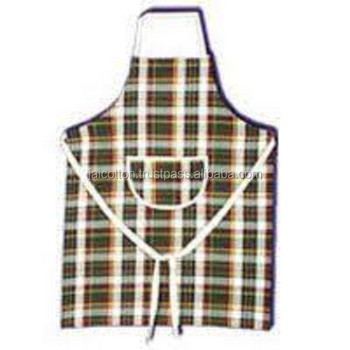 Cotton Kitchen Cooking Apron from India
