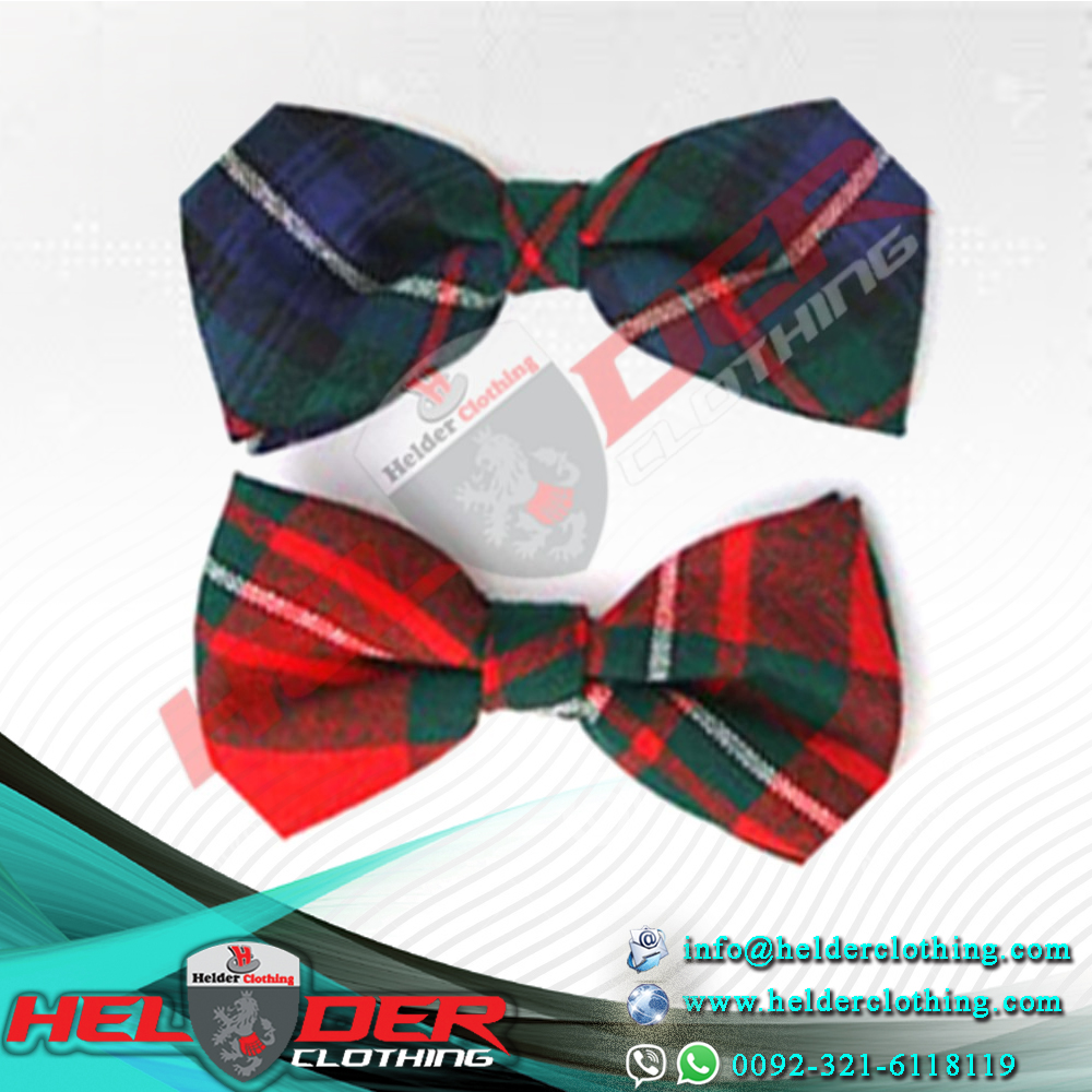 TIES, BOWTIES & CUMMERBUND / Deer Land Men's Bow Ties Two Colors Tartan / Utility Kilt / Scottish Kilt / Tartan Kilt