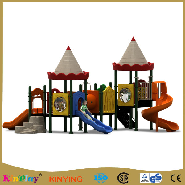 KINPLAY brand indoor and outdoor playground  slide inflatable slide for kids
