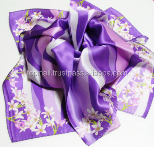 Women Beautiful Silk Scarf