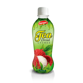 Suppliers Tea Drink With Lychee Juice Flavour 350ml