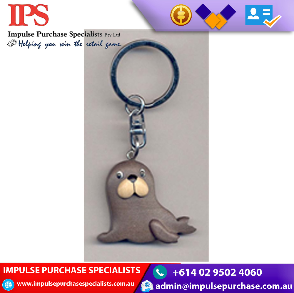 Wholesale seal Wooden Key Ring Gifts Blank Key Chain