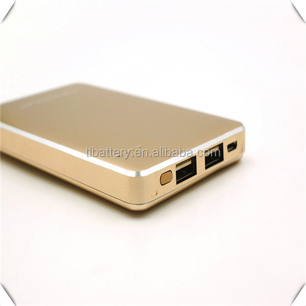Wholesale GVE120 brand plastic polymer power bank 12000mAh