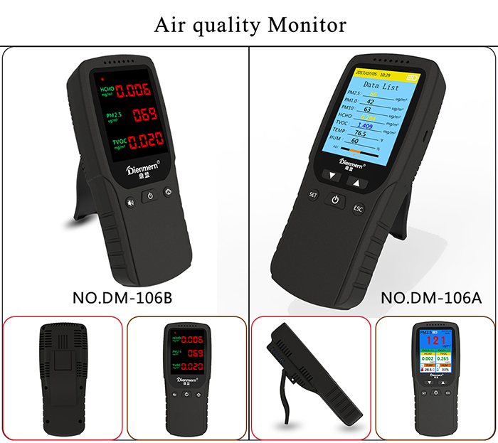 Formaldehyde detector for Home Use
