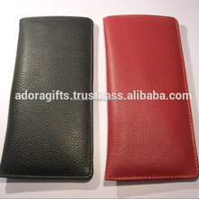 Soft leather eyeglass cases/ leather eyeglass case supplier from china/cheap leather eyeglasses case special design glasses case