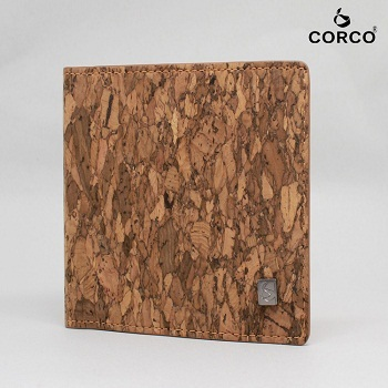 Gift Wallet Cork slim Credit Men Wallet Eco-Friendly Purse Unique Designed man wallet 2018