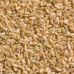 Organic Brown Rice, premium quality! Long, Round Brown.