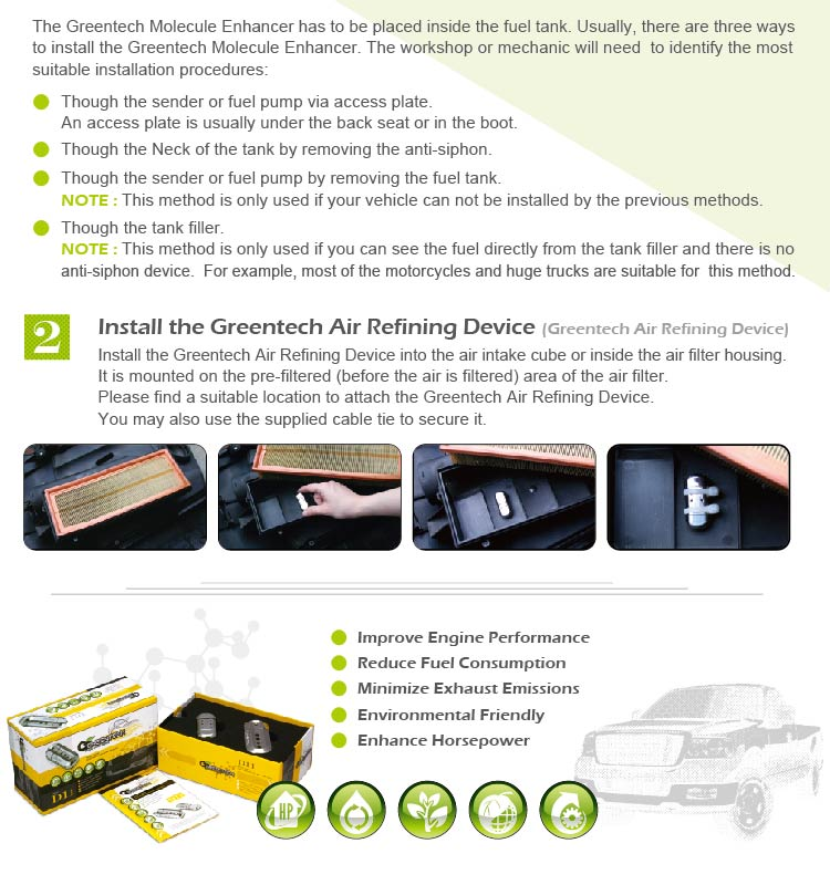 Nano fuel saving device for Volvo xc90 TOYOTA Rav4
