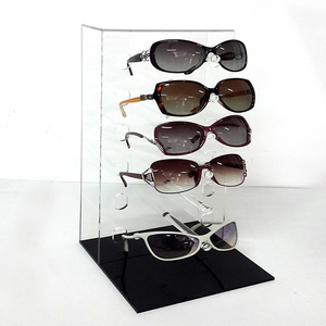 Wood mdf sunglasses tree display stand design